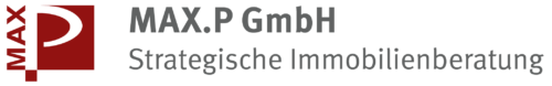 MAX.P GmbH Logo |Strategische Immobilienberatung